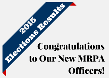 Congratulations to Our New MRPA Officers!