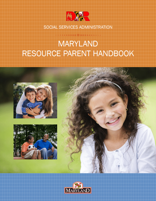 Md Parent Resource Handbook Cover