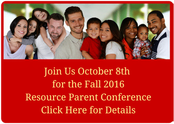 Fall 2016 Resource Parent Conference