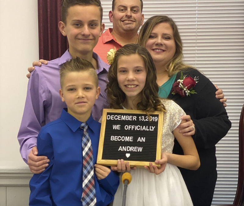 MDHS Foster Parents of the Year: Daniel and Melanie Andrew, Caroline County