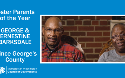 MDHS Foster Parents of the Year: George and Ernestine Barksdale, Prince George's County