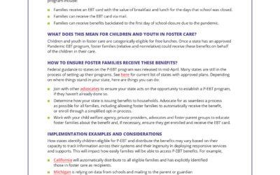 CHAMPS Pandemic EBT Program Update
