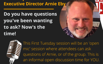 First Tuesday August 3, 2021: Open Mic Discussion